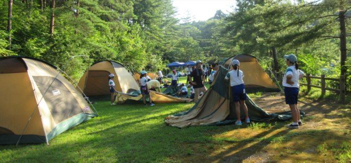 8月子ども会キャンプ